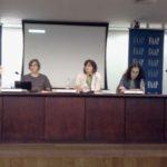 VII Congresso FORCINE- mesa OS DESAFIOS DA PROFISSIONALIZAÇÃO NA ÁREA AUDIOVISUAL com Lucimar Dantas, Giba Assis Brasil, Luciana Rodrigues, Cynthia Alario e Julio Taubkin.